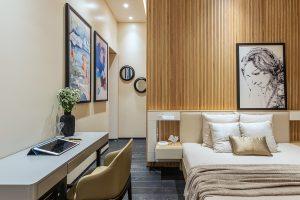 RL Residence bedroom decor ideas