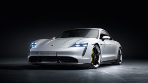 Porsche's first electric vehicle Taycan Turbo