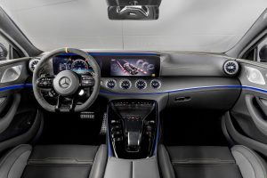 Dinamica steering wheel in the AMG GT 63 S 4MATIC