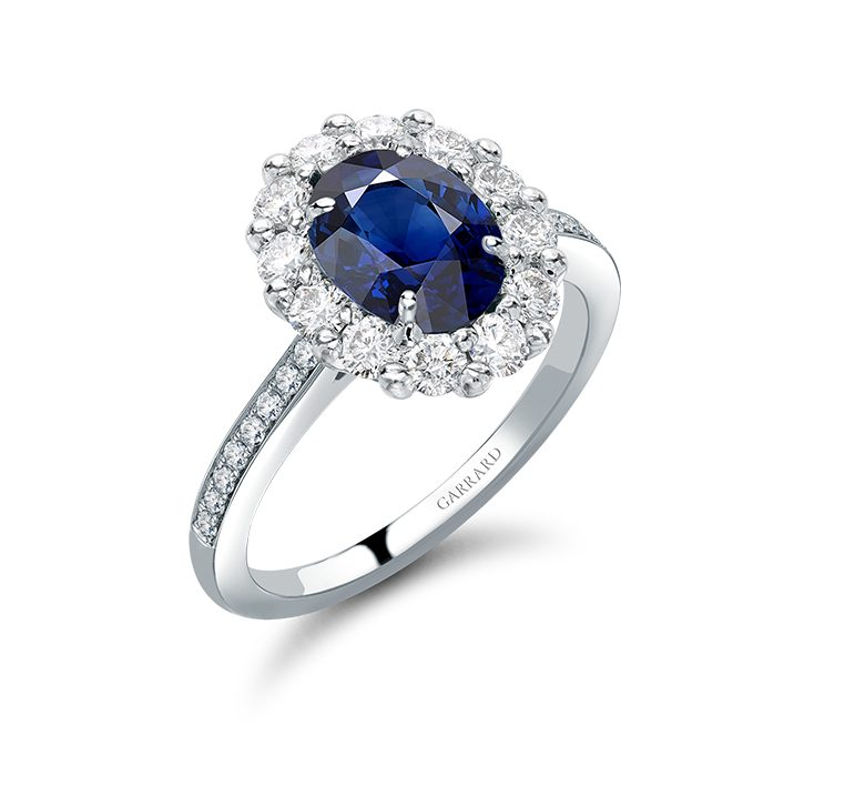 1735 Oval Sapphire Ring, Garrard & Co.