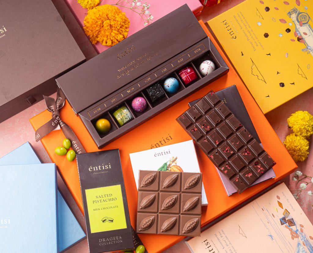 Entisi Chocolates Diwali Gifting