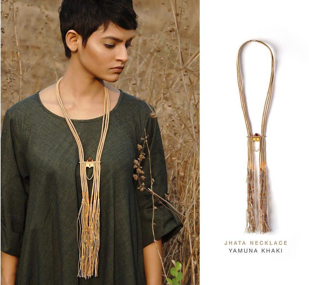 Jhata necklace by Razia Kunj