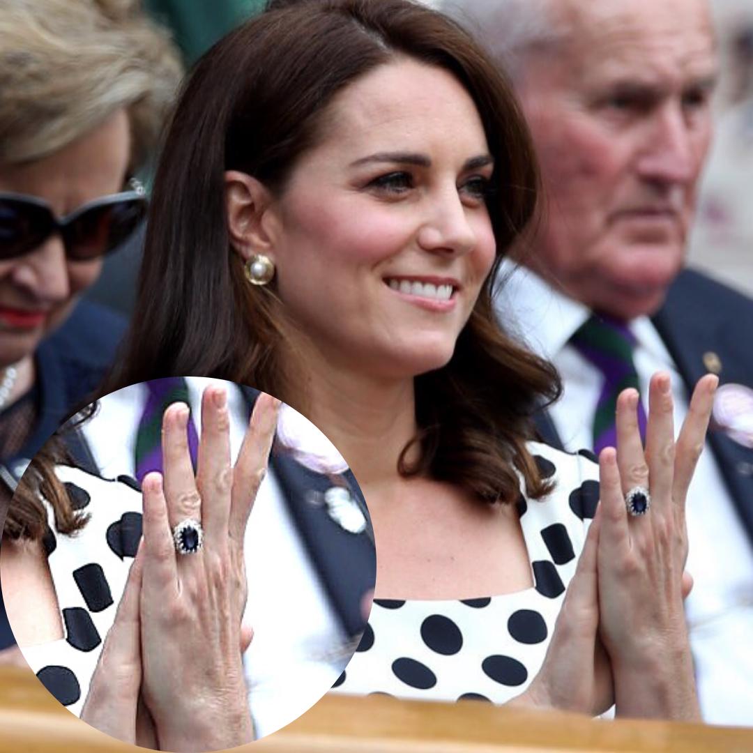 Kate Middleton wearing Princess Diana's sapphire engagement ring, Photo- Instagram, Kensigton Royal