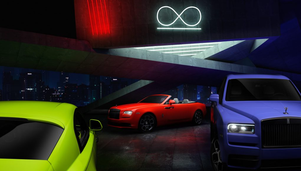 Rolls-Royce Neon Nights limited edition