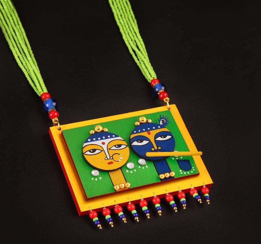 Temple necklace by Razia Kunj