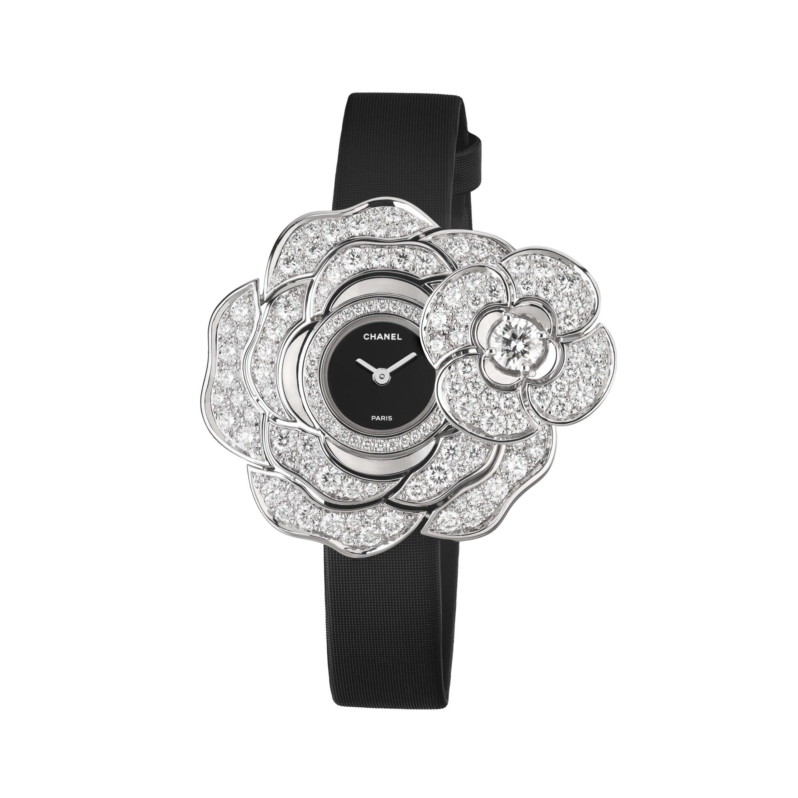 Chanel Camélia Jewelery watch