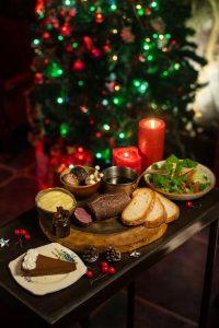Christmas special menu at Slink & Bardot