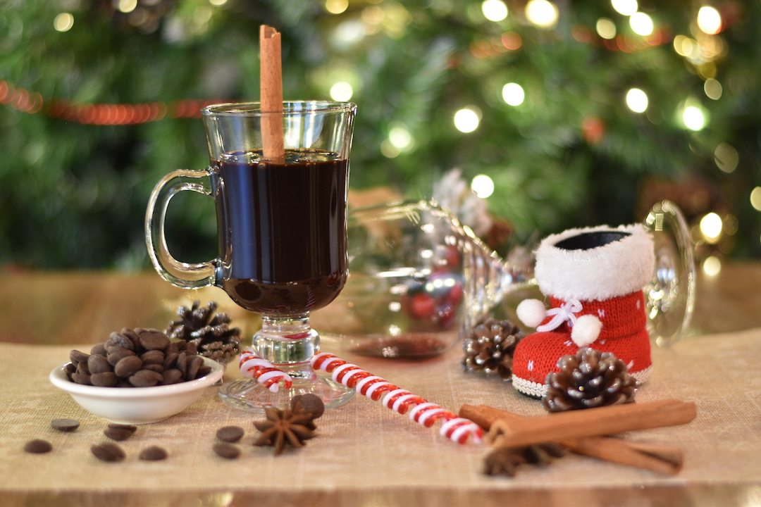Mulled Hot Chocolate