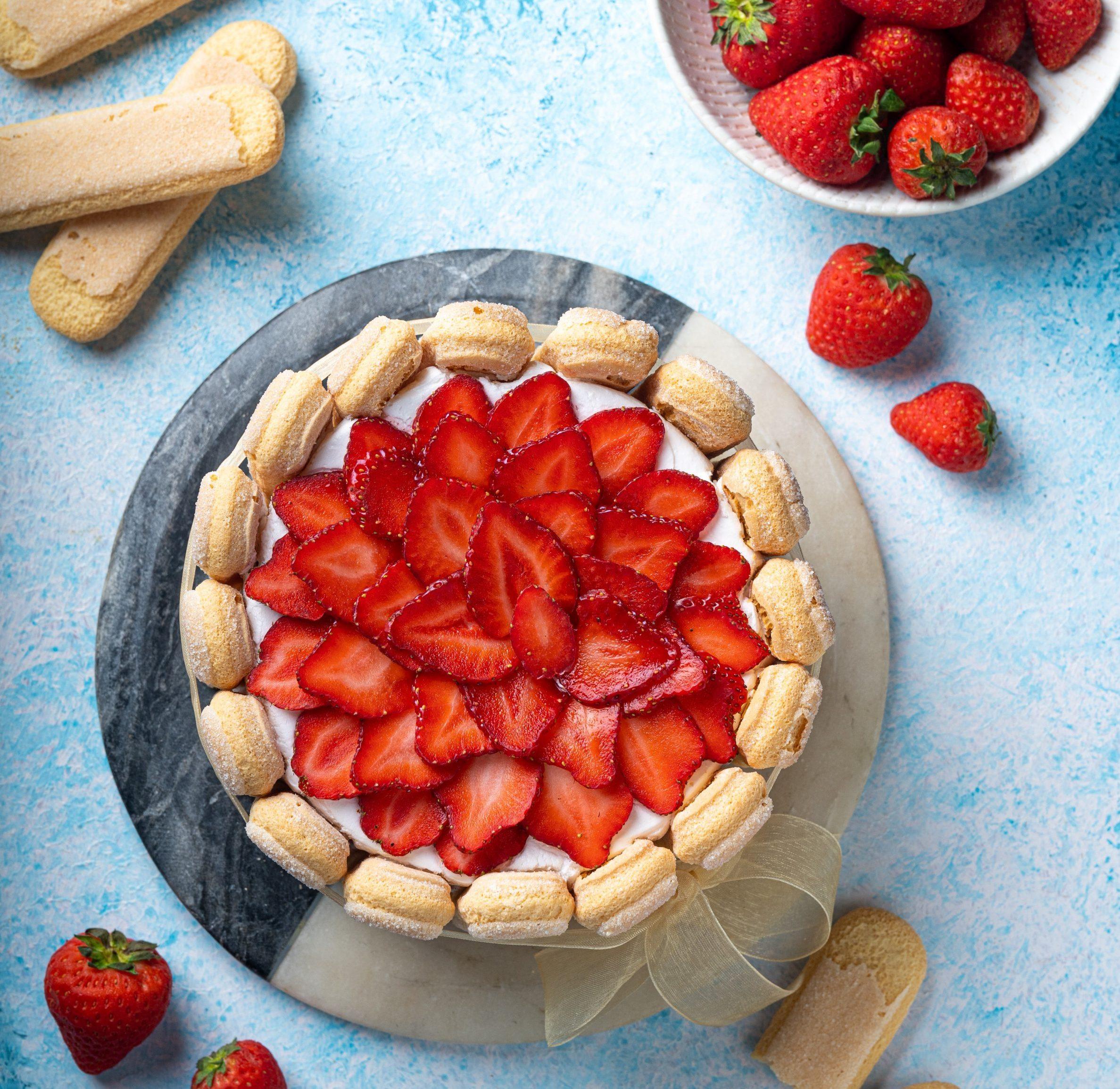 Strawberry Tres Leches Cake Chef Guntas