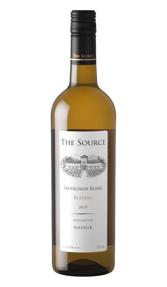 The Source Sauvignon Blanc Reserve by Sula