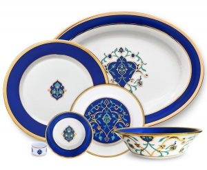 luxury tableware from India