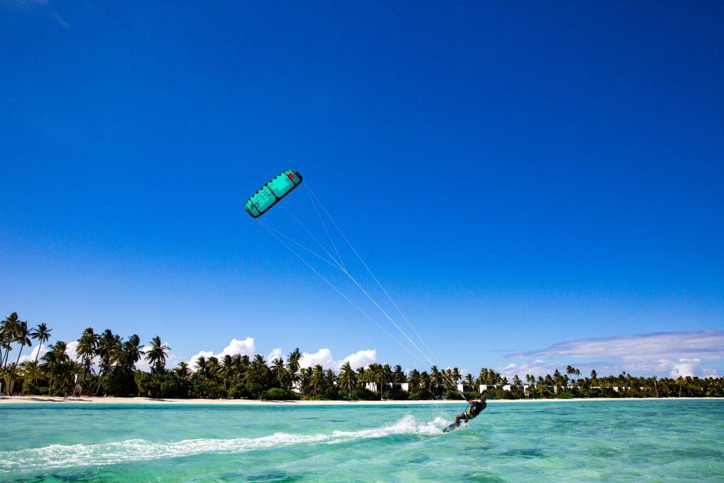 PArasailing at Kandima Maldives
