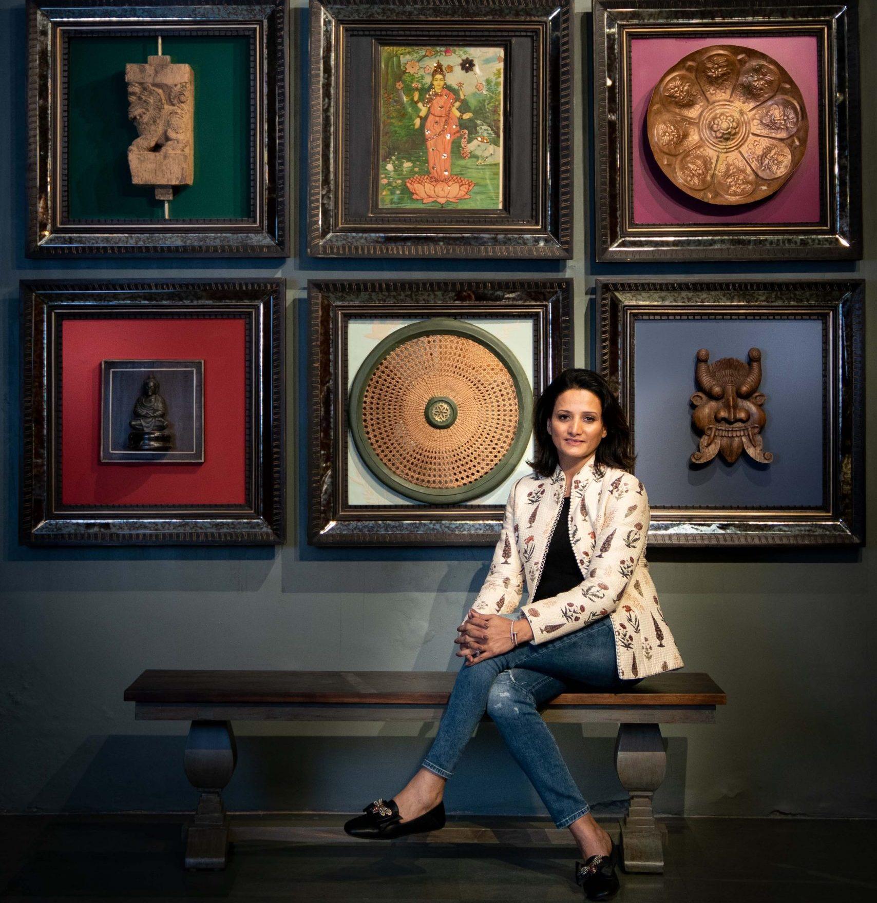 Designer Neeta Kumar, Inhabit
