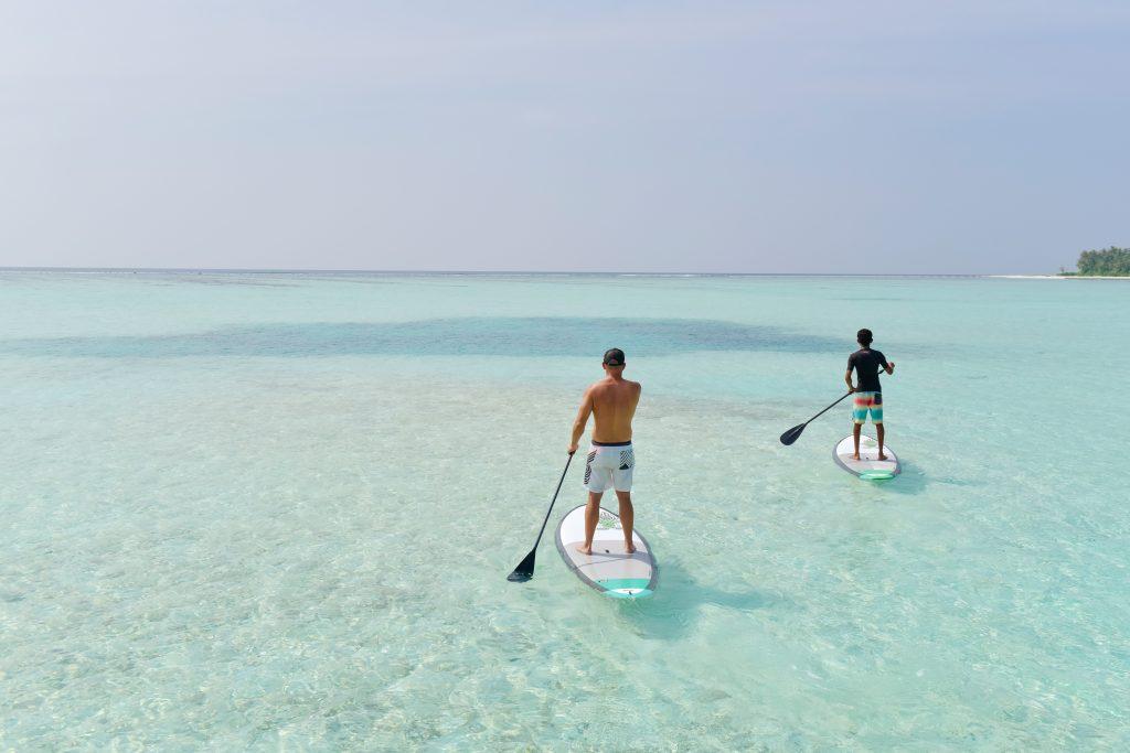 Kayaking at Kandima Maldives