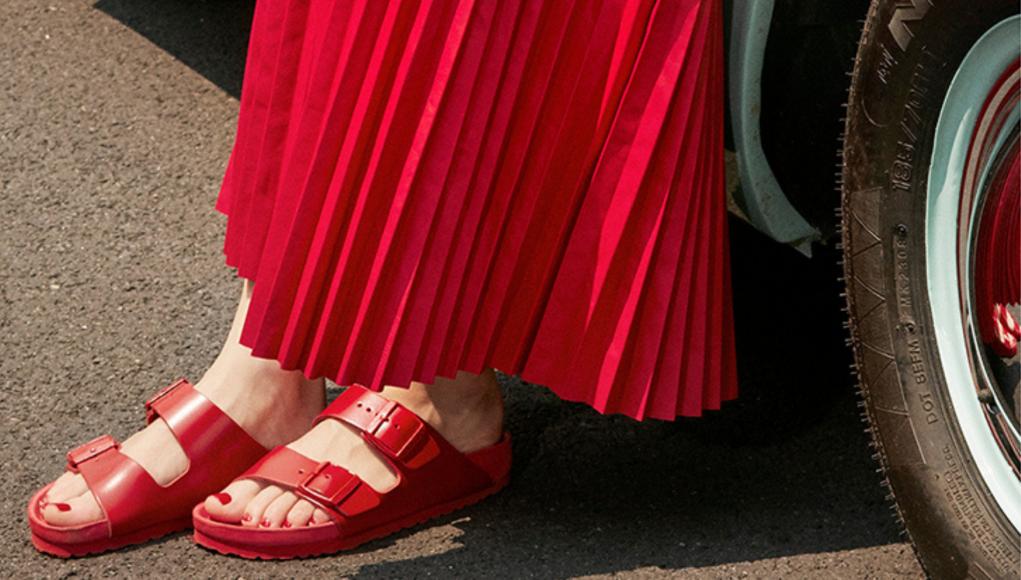 Birkenstock x Valentino sandals