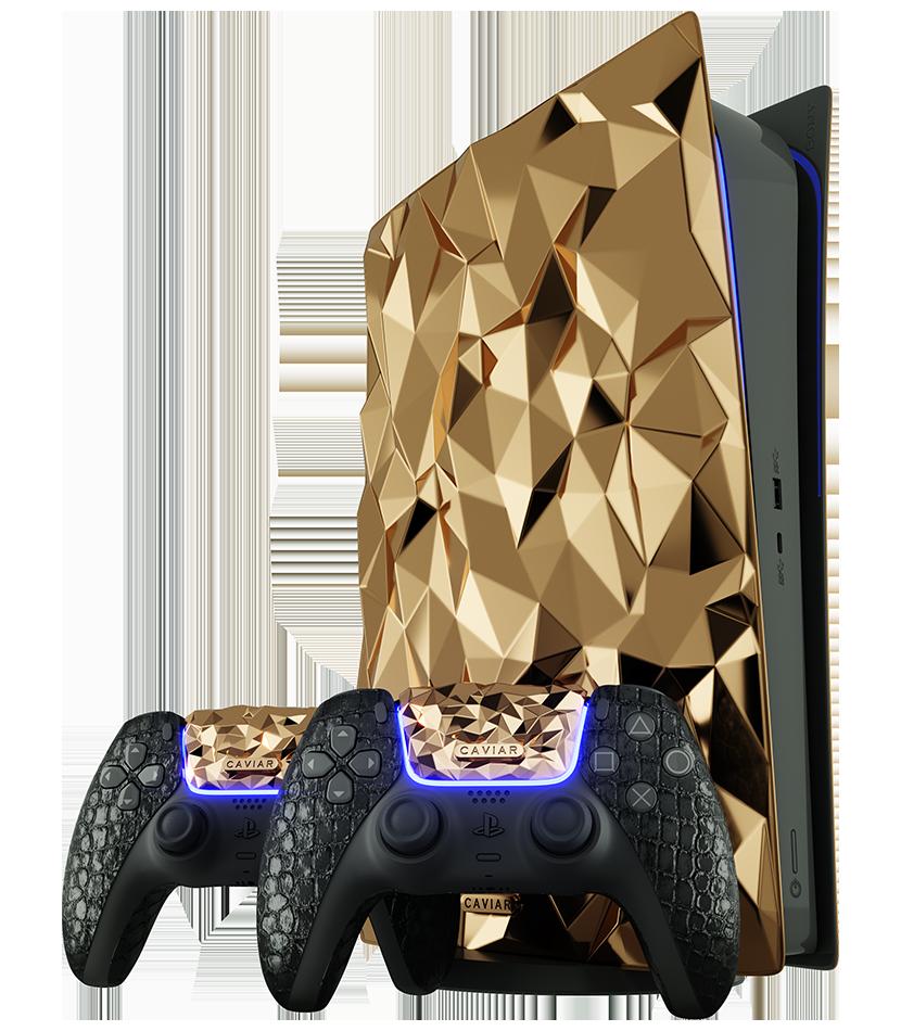 Golden Rock PS5 by Caviar