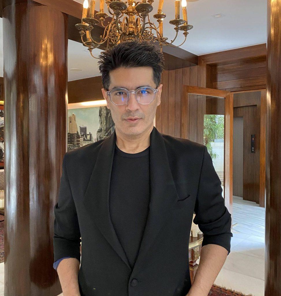 Fashion designer Manish Malhotra gets candid