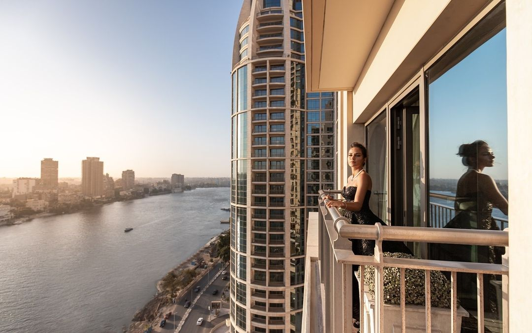 St Regis Cairo overlooks the sweeping views of river Nile