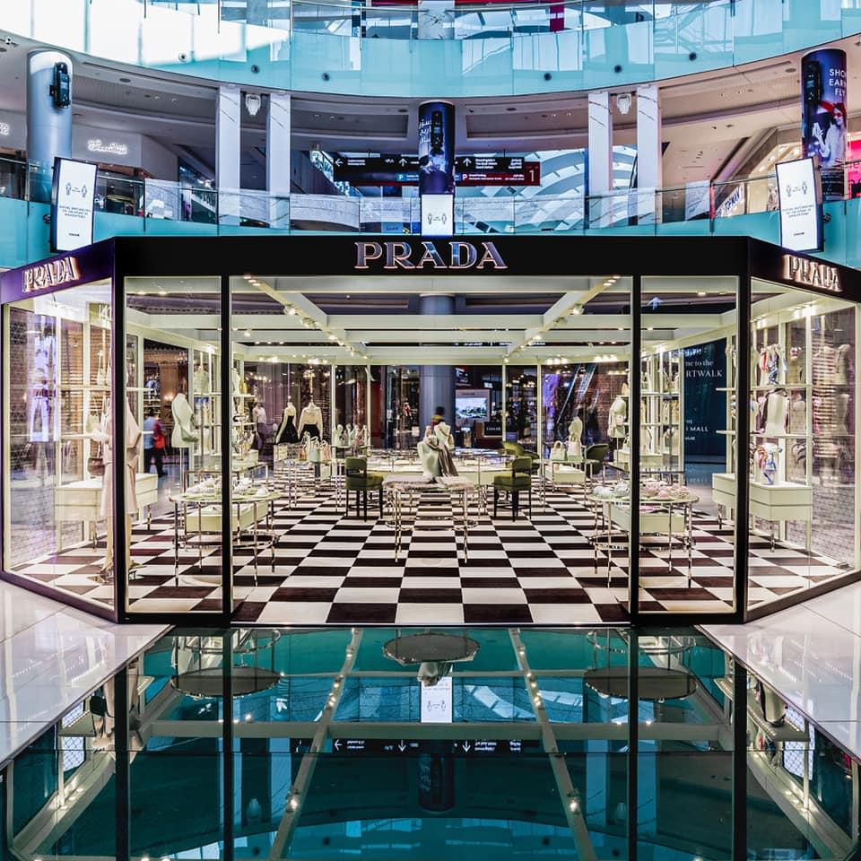 The Dubai Mall- Prada store