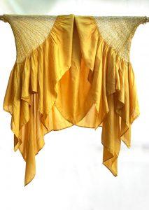 Studio Medium Naturally Dyed Yellow Cape