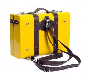 the dean backpack yellow Nappa Dori