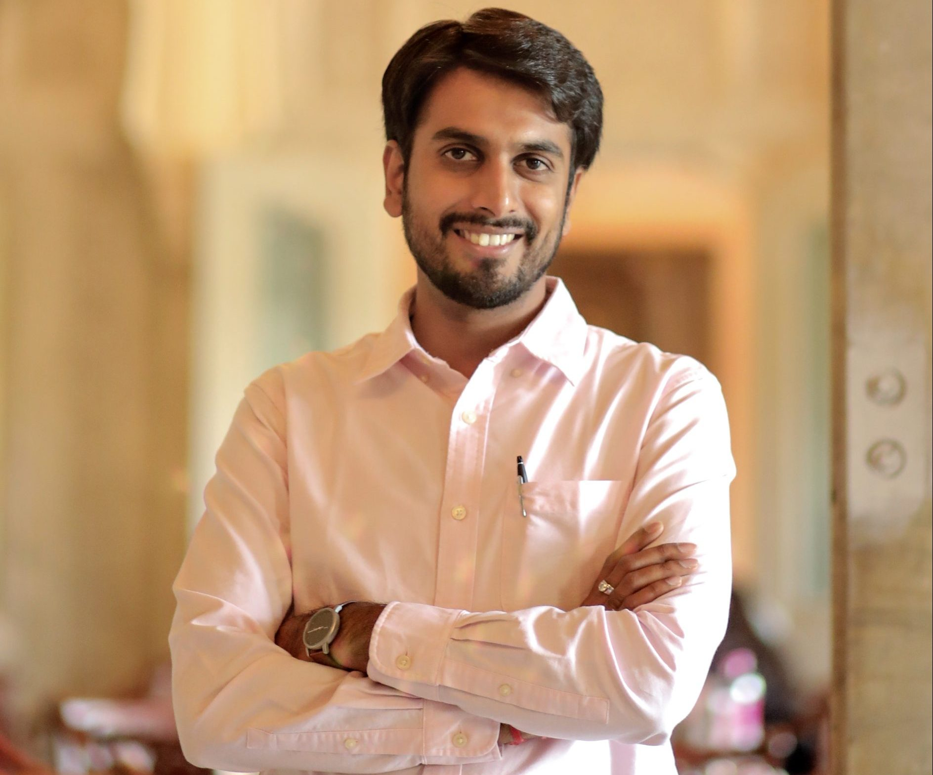 Yogesh Chaudhary, Director, Jaipur Rugs