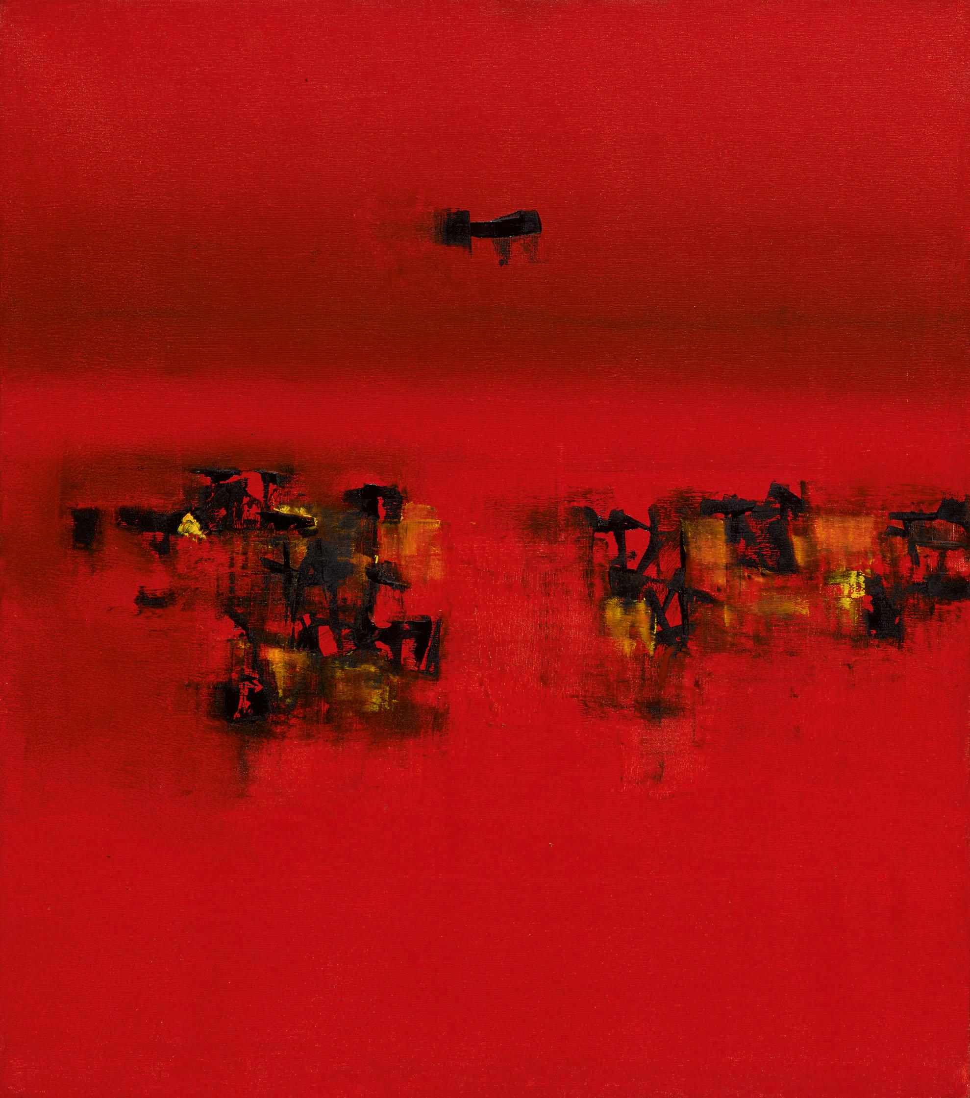 Untitled (1962) by Vasudeo S. Gaitonde