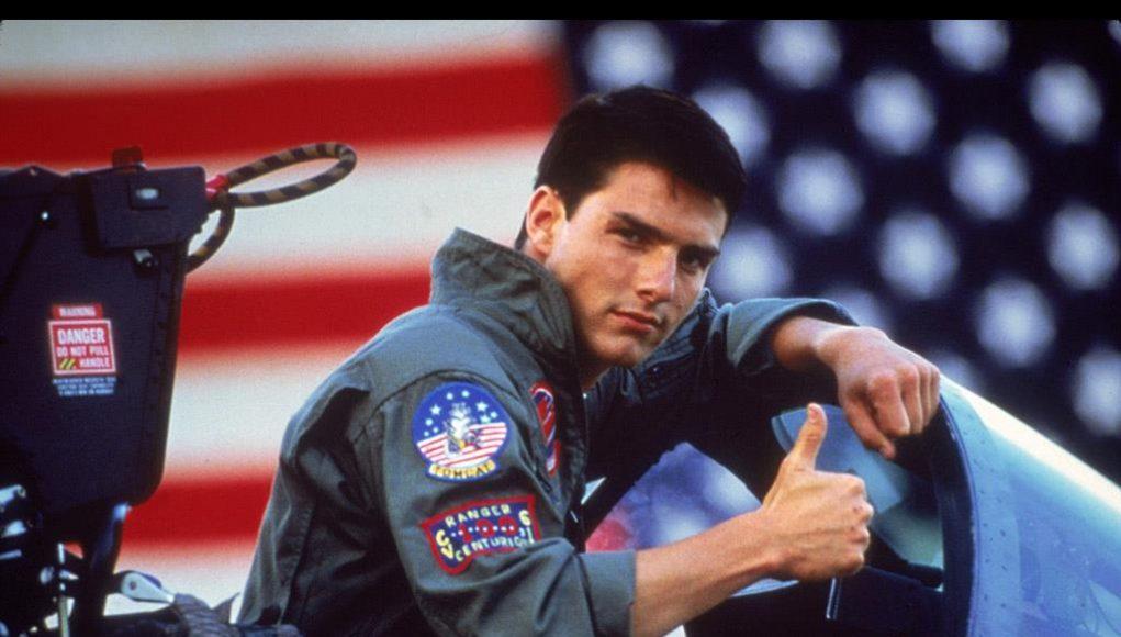 Top Gun starring Tom Cruise
