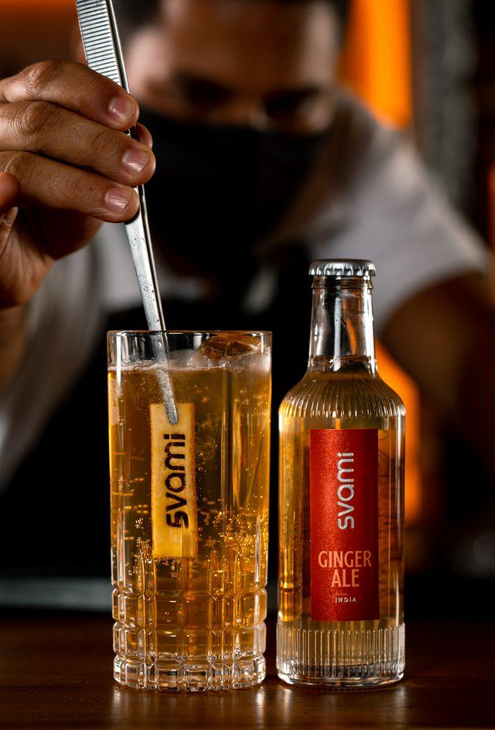 Ginger Orange Fizz, Svami Drinks