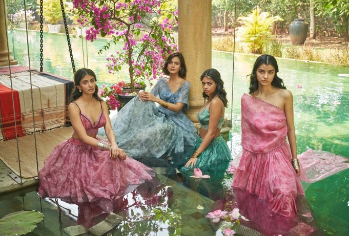 A Summer Memoir – Bridal 2021 collection by JADE by Monica and Karishma