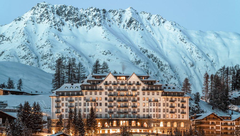 Kanika Tekriwal of JetSetGo travel to Carlton Hotel St. Moritz