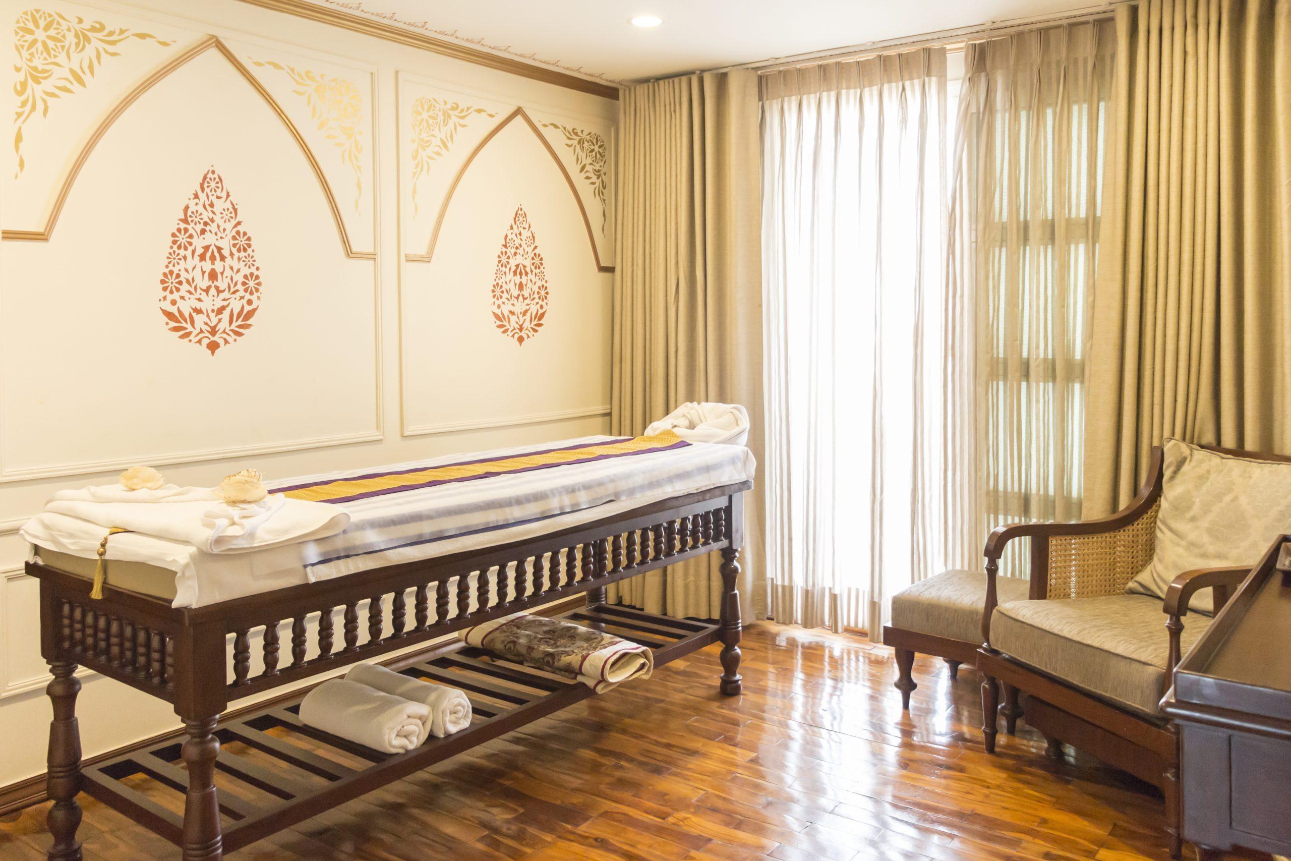 The spa room on Ganges Voyager-II