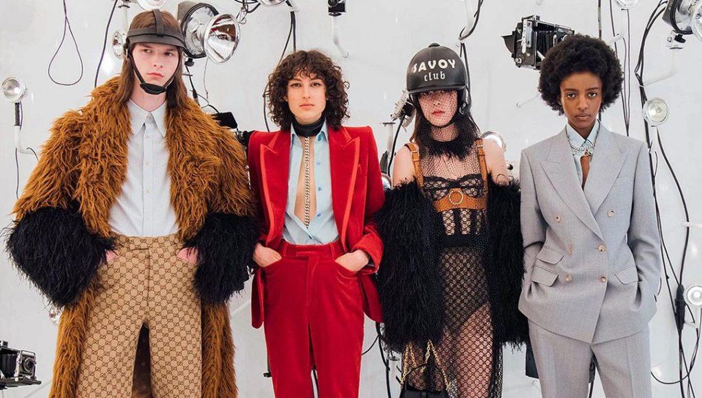 Gucci x Balenciaga launch Aria