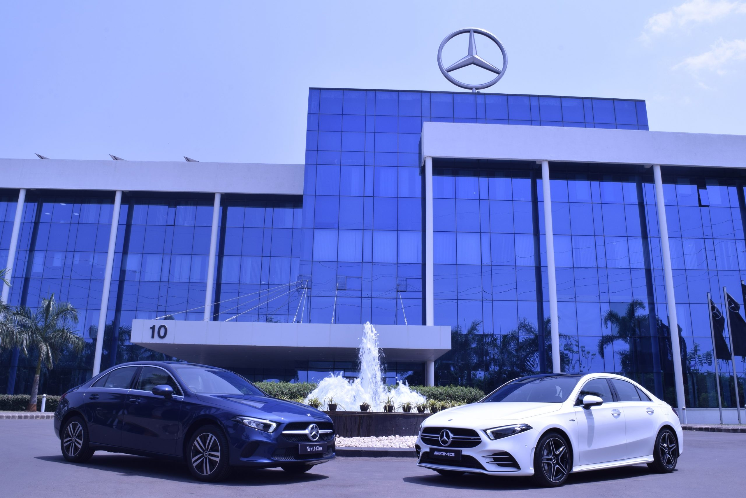 Mercedes-Benz launches two new cars—A-Class Limousine & AMG A 35 4MATIC