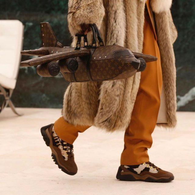 Louis Vuitton's airplane bag