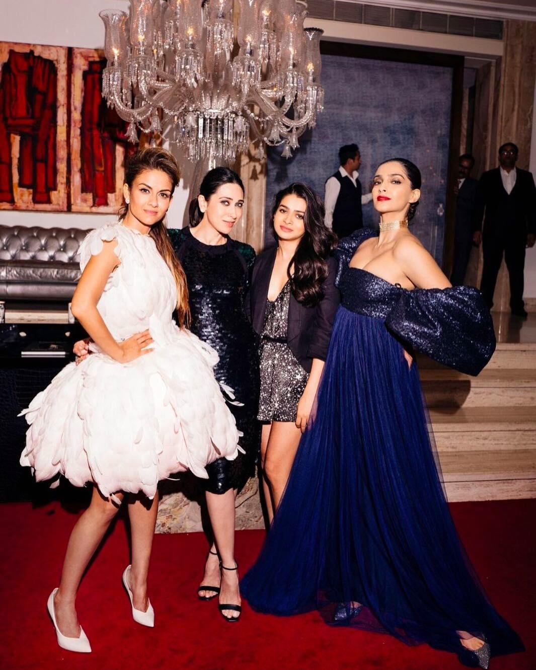 Natasha Poonawalla, Karisma Kapoor, Tanya Ghavri and Sonam Kapoor