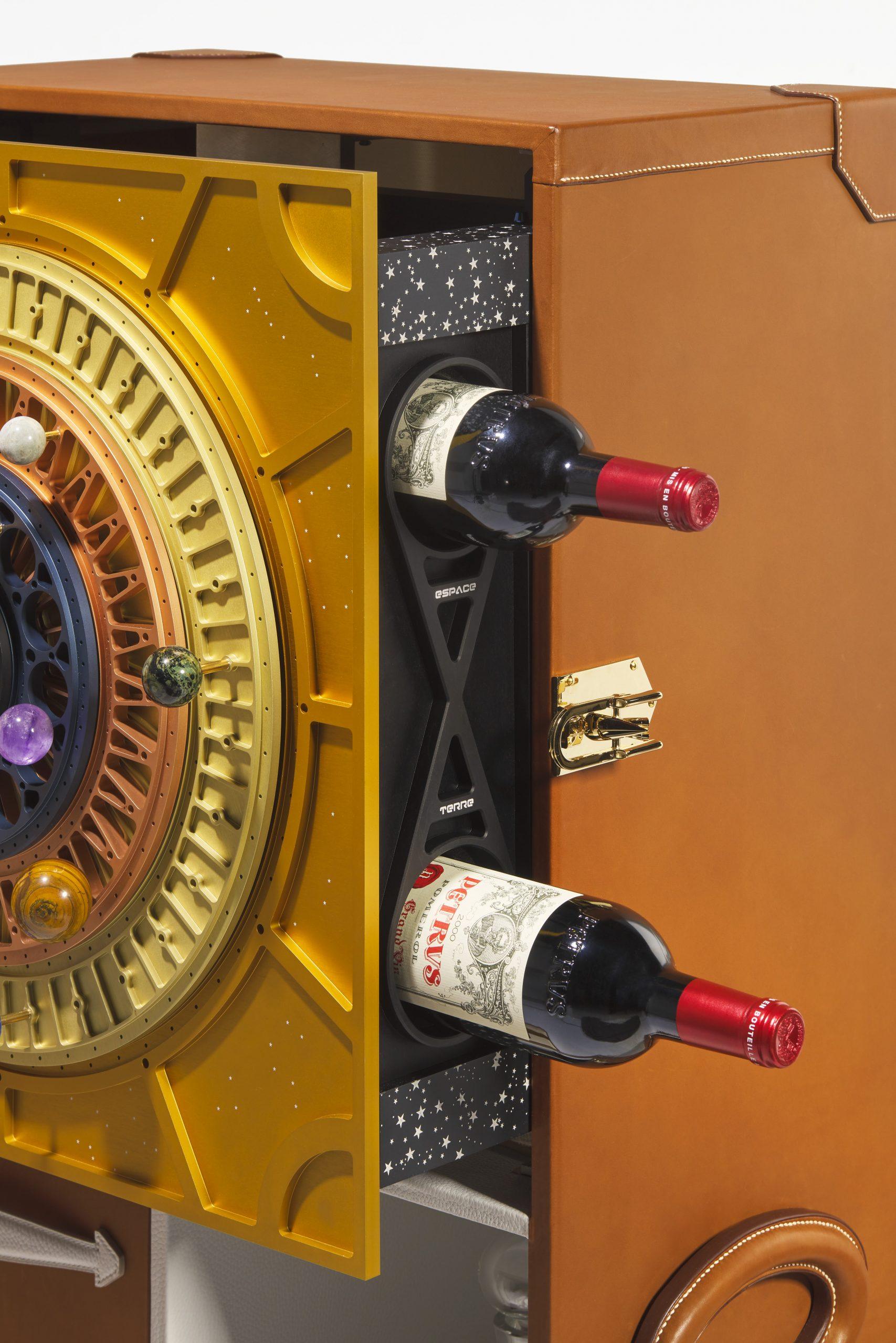 space-aged Pétrus 2000 wine