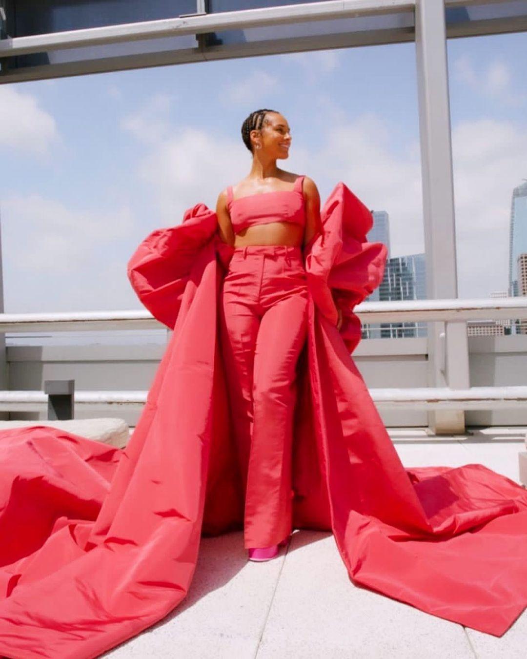 Alicia Keys in Valentino