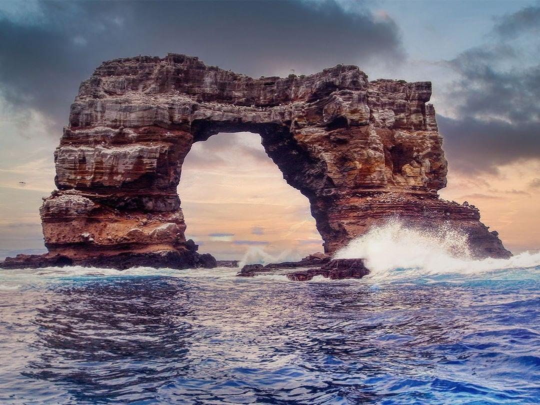 Darwin's Arch in Galapagos Islands