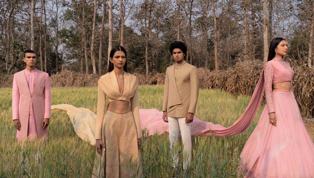 Equivalence by Indian fashion designer Sarah & Sandeep