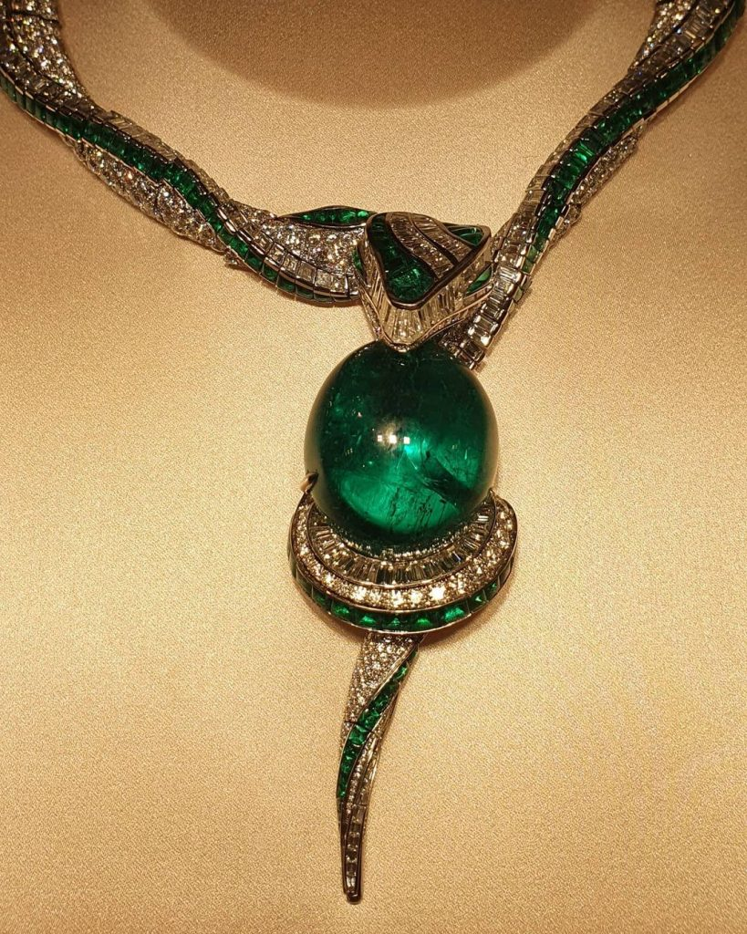 Hypnotic Emerald from Bulgari's Magnifica collection