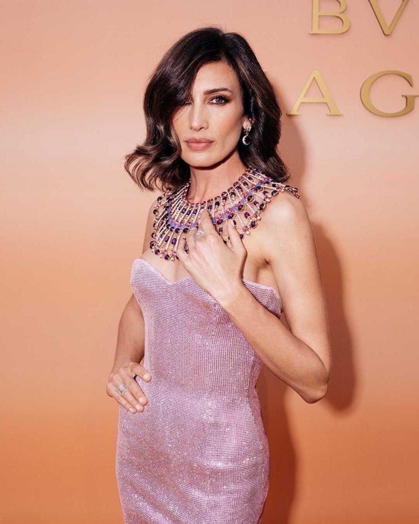 Nieves Álvarez wearing Bulgari's Magnifica necklace