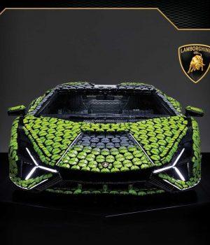 Lamborghini Sian x Lego