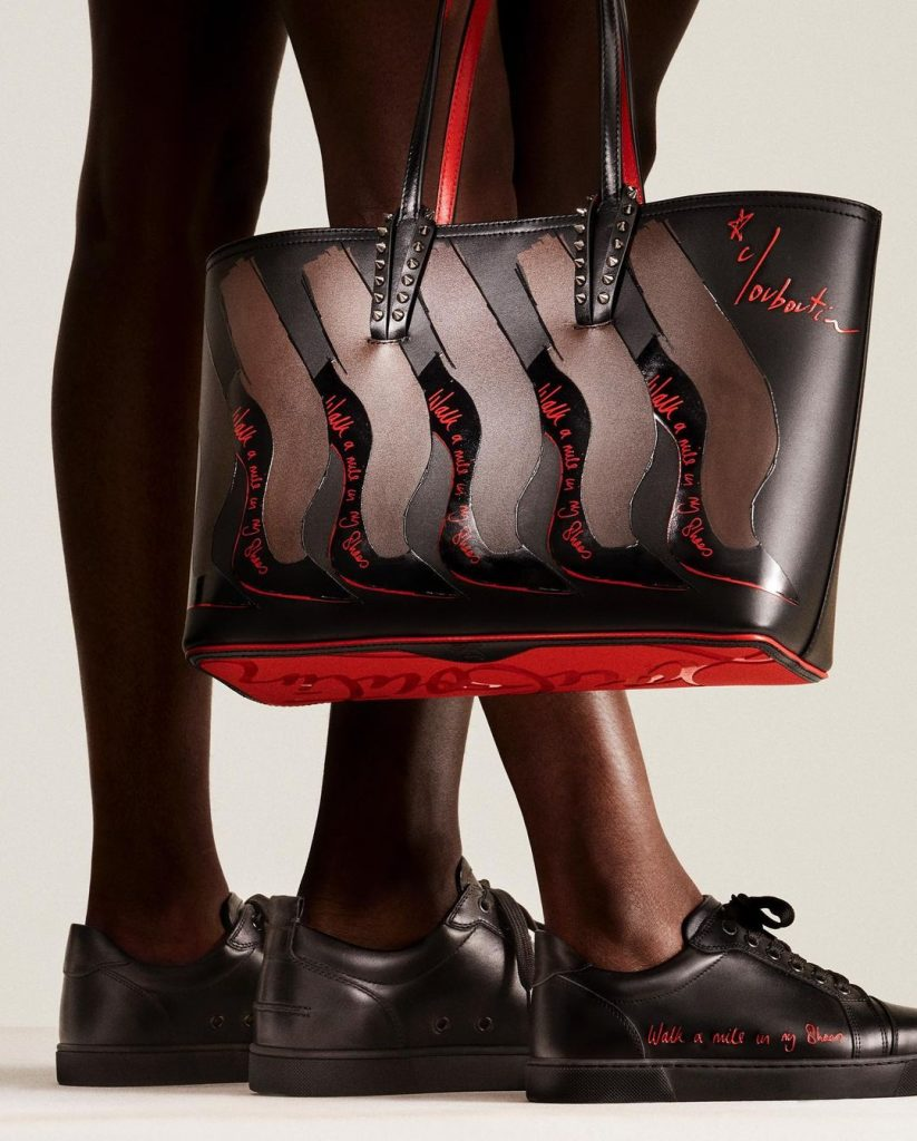 """Christian Louboutin """"Walk a mile in my shoes"""""""