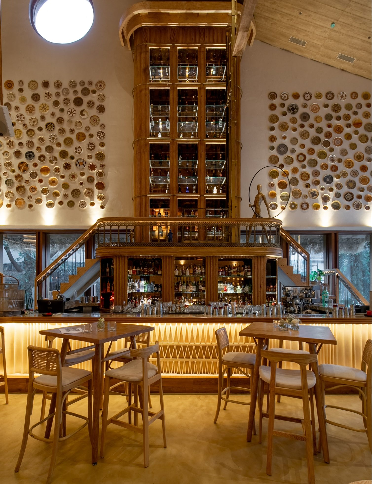 Bastian Worli's 28-Foot Tall Bar