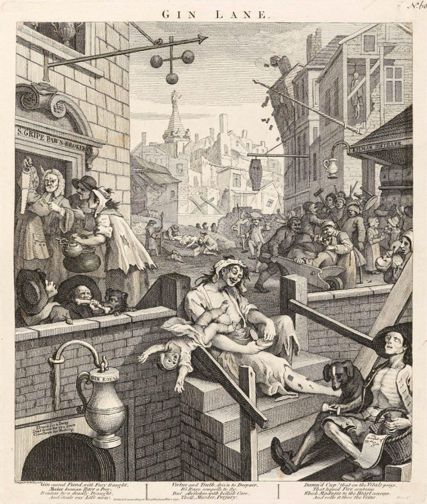 Hogarth, William; Gin Lane; https://www.royalacademy.org.uk/art-artists/work-of-art/O24059