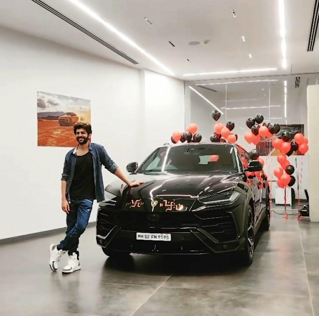 Kartik Aaryan's Lamborghini Urus