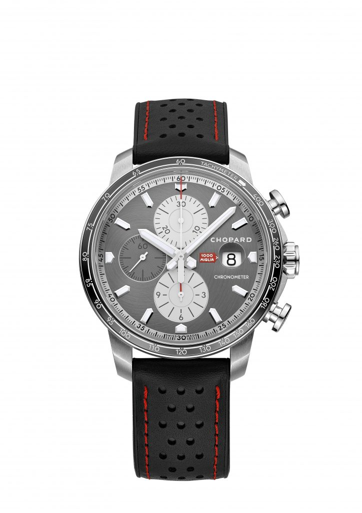 Chopard Mille Miglia 2021 1000-piece stainless steel Chronographer