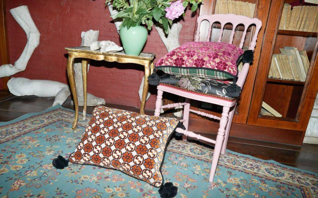 Gucci Rectangular cushions