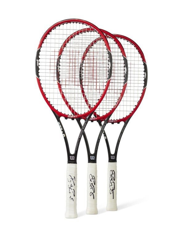 Roger Federer's Champion Rackets from the Indian Aces